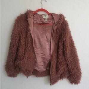 Fuzzy Forever 21 Jacket